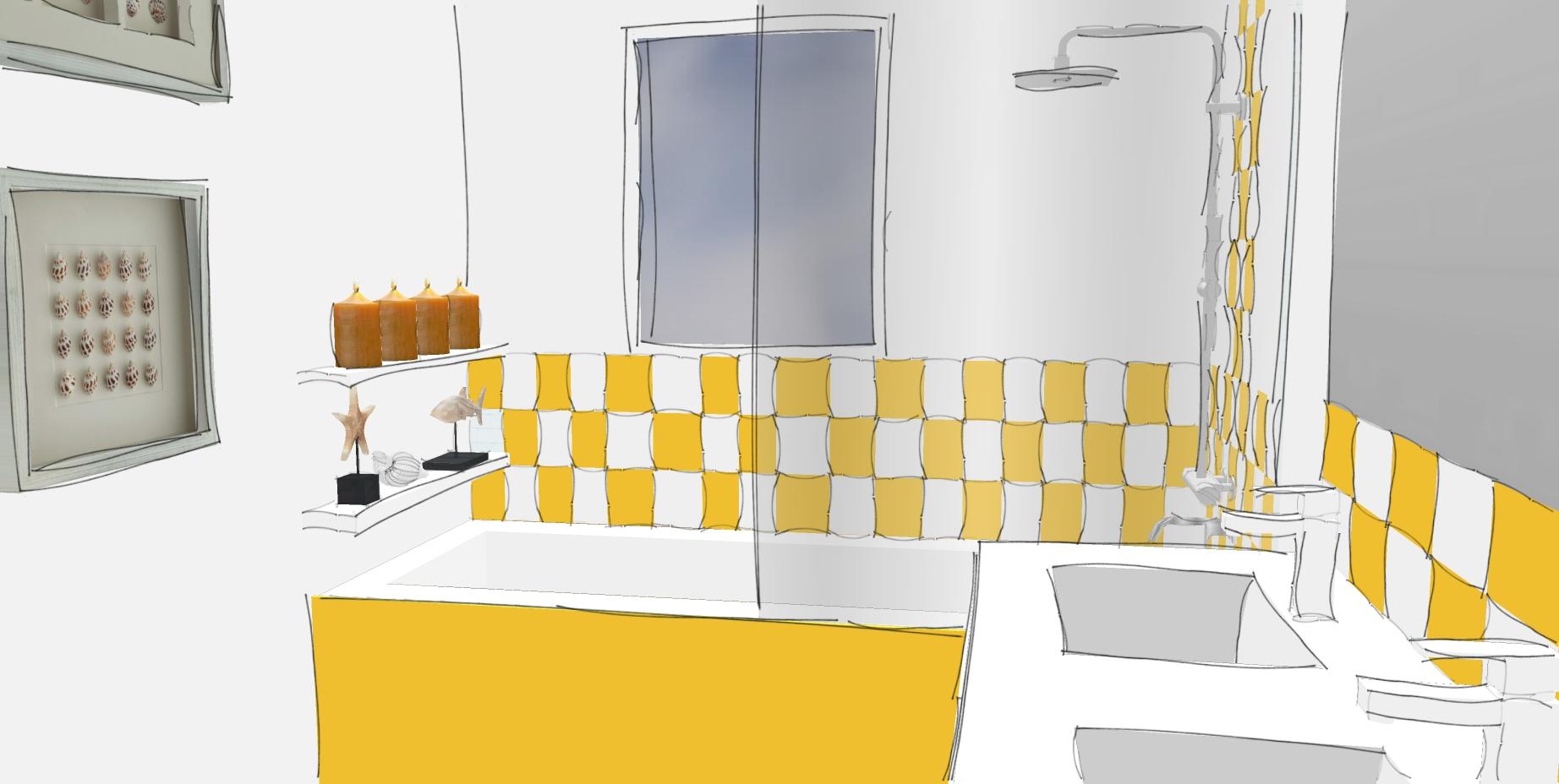 Projet en cours agencement et d coration maison 130m for Cours de decoration d interieur